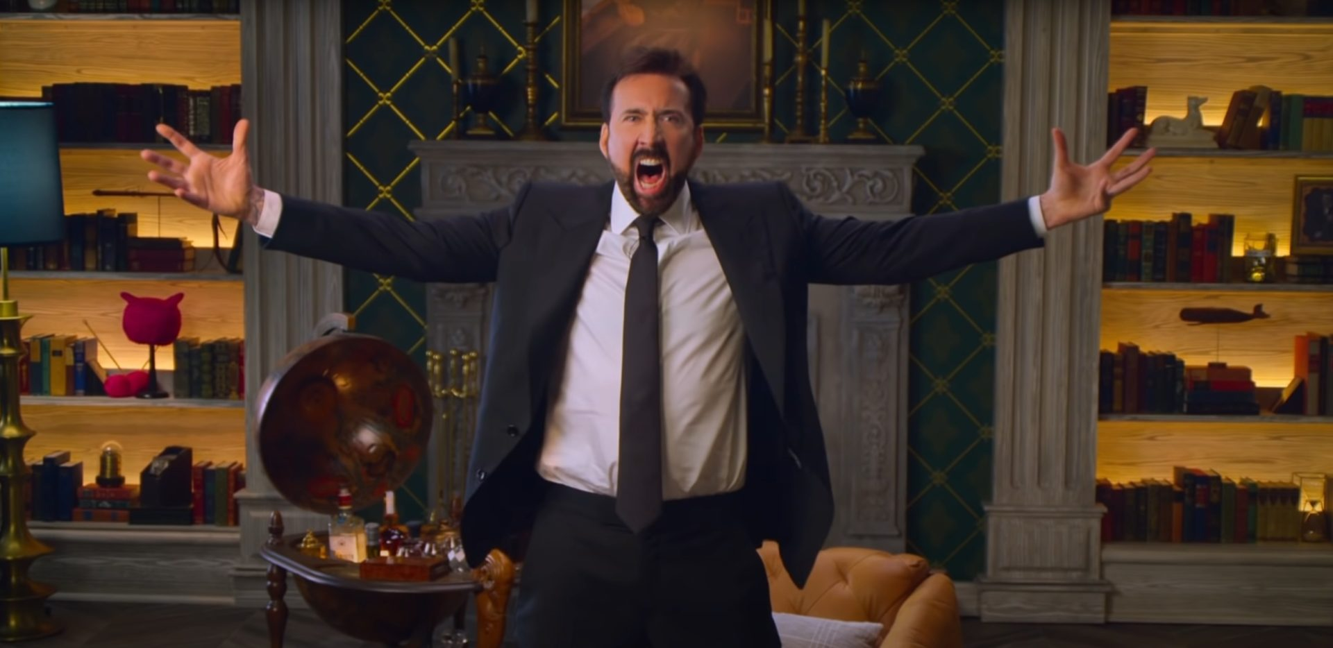 Nicholas Cage in Netflix's History of Swear Words