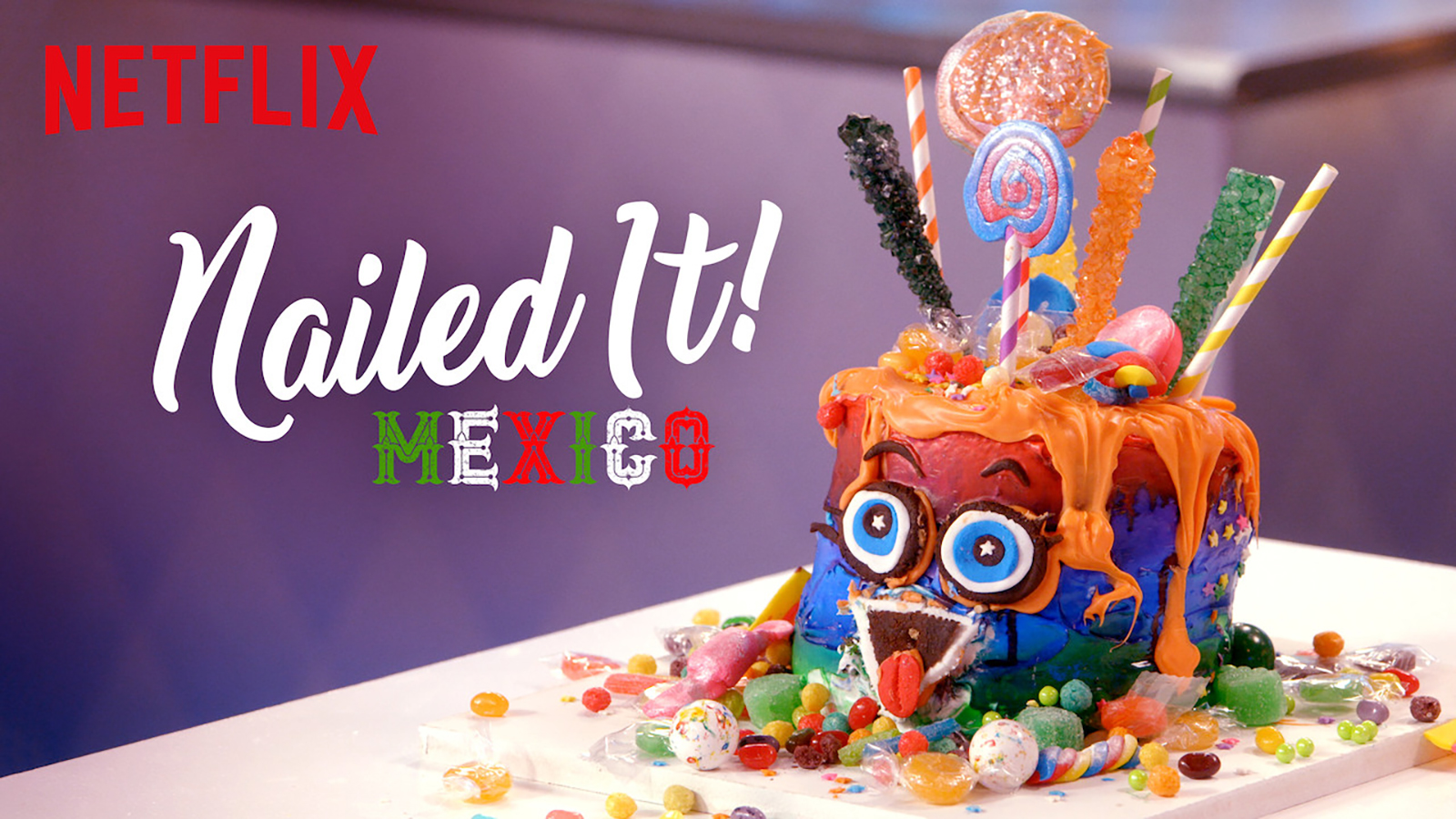 Title Card for Nailed It! Mexico