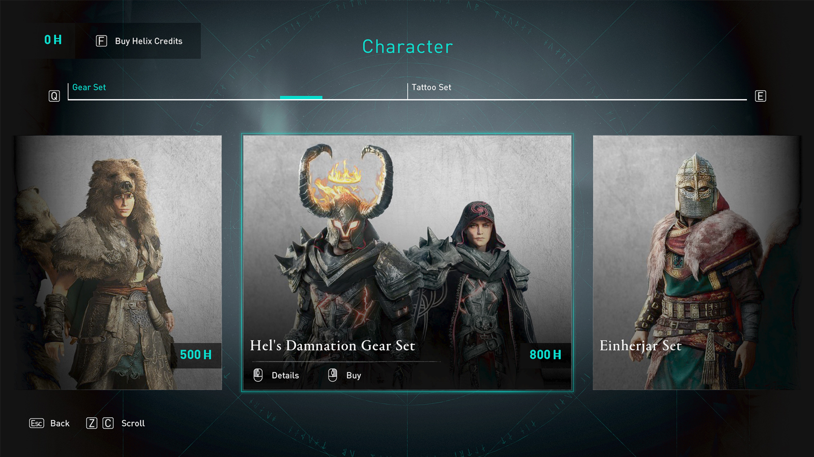 Hel's Damnation Assassin's Creed Valhalla set in store