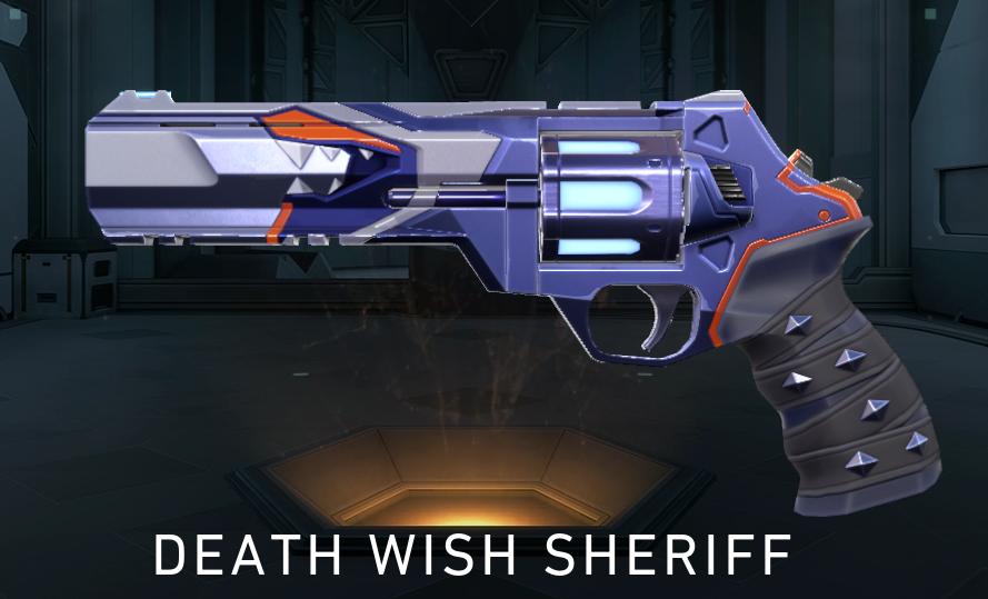 Valorant Yoru Death Wish Sheriff
