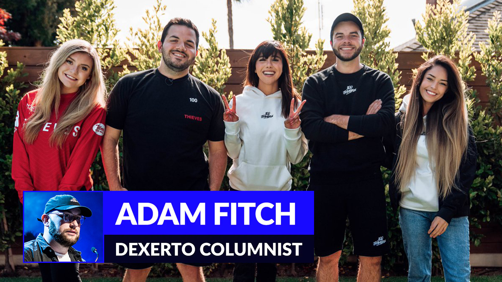 100 Thieves' roster of content creators
