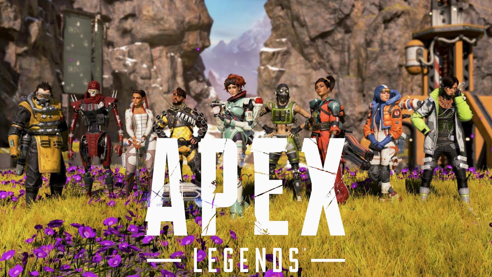 All Legends in Apex legends