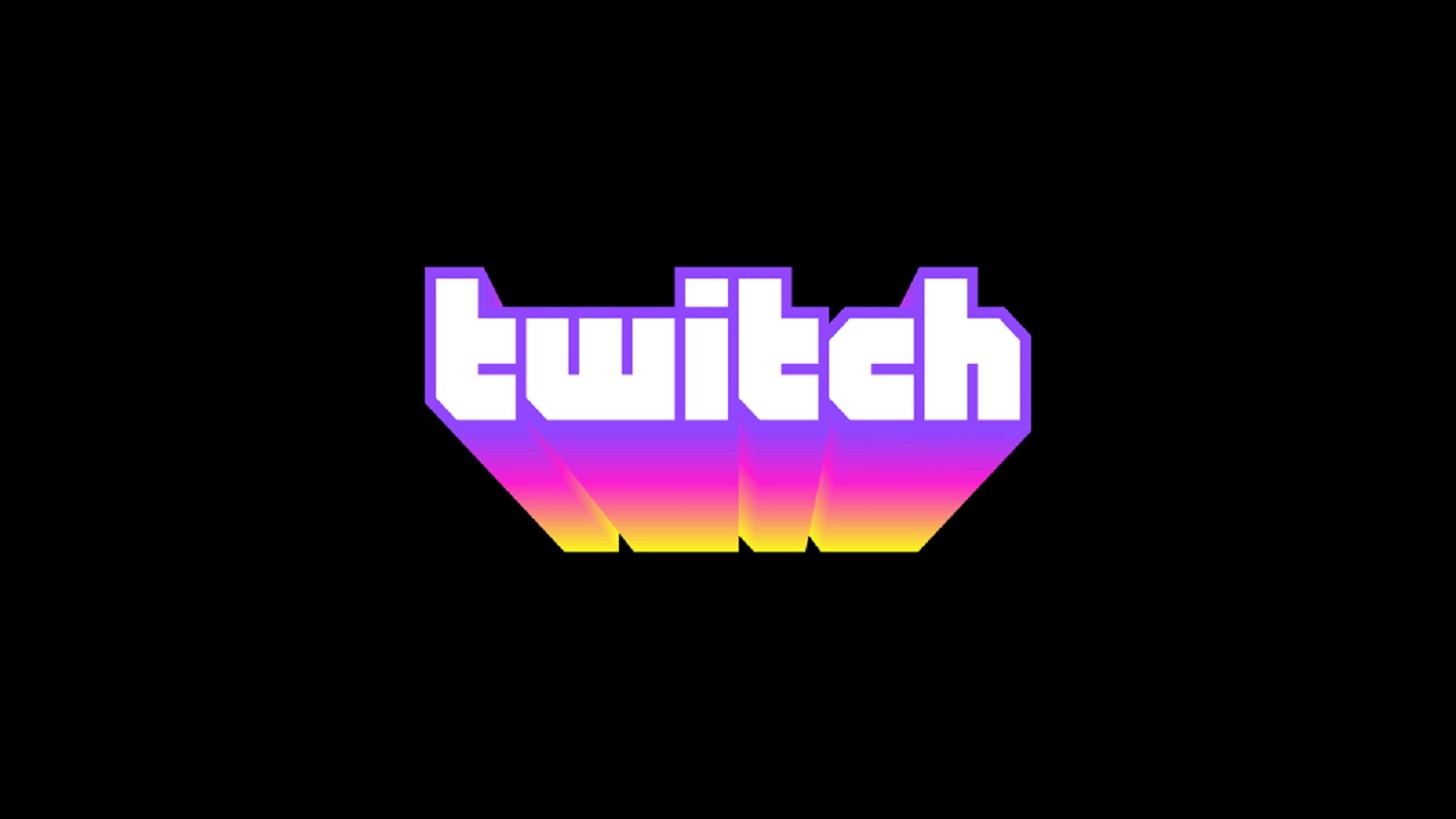 Twitch Logo Black Background