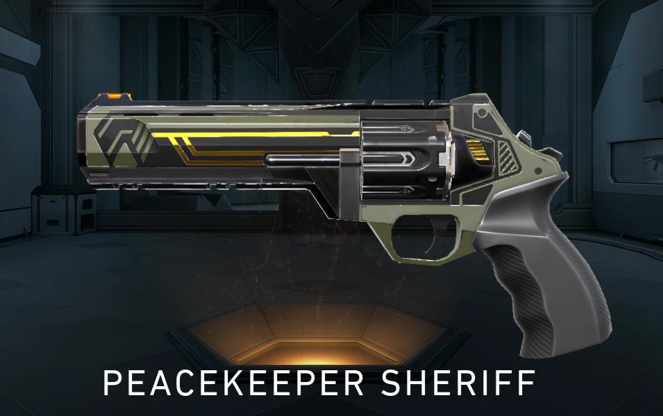 Brimstone Sheriff Skin Valorant