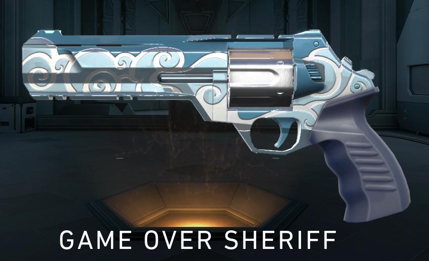 Jett Sheriff Skin Valorant