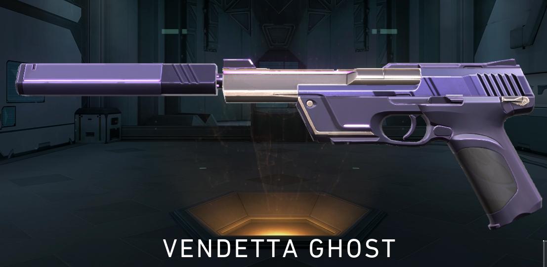 Reyna Ghost Skin valorant