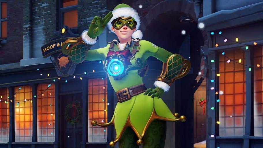 Tracer Elf Skin Overwatch