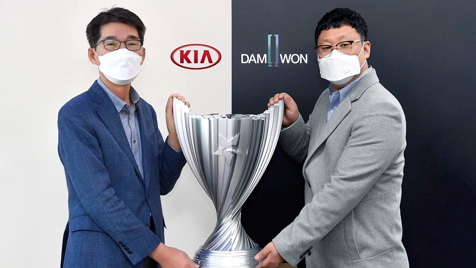League of Legends champs Damwon Gaming has partnered with KIA Motors.