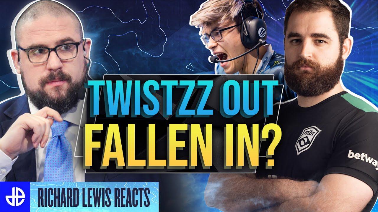 Twistzz and Fallen in CSGO Team Liquid