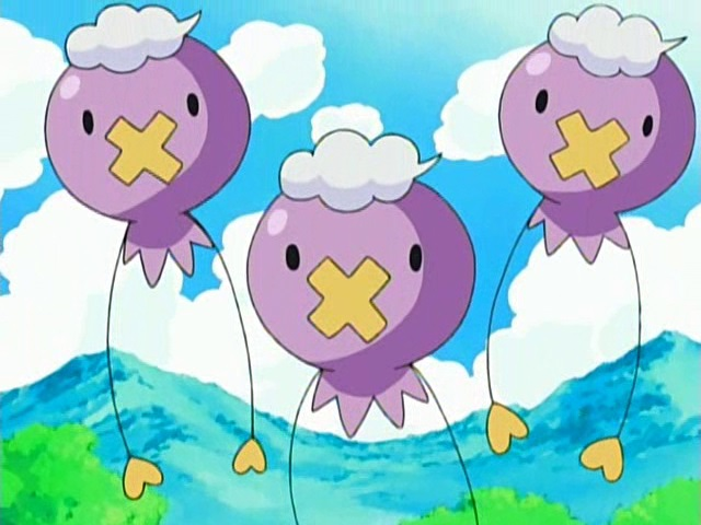 Drifloon in the anime