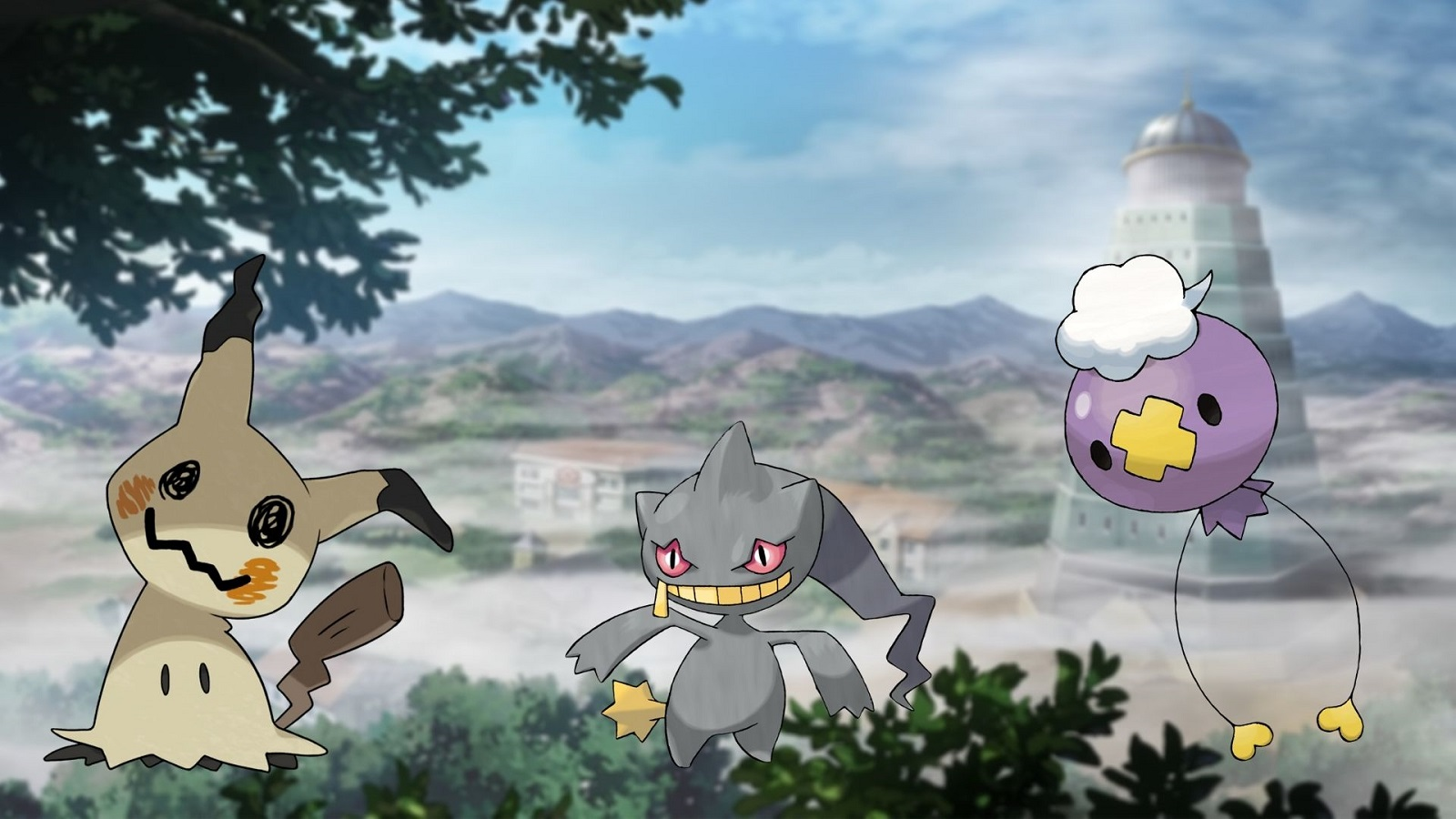 Lavender Town in the anime
