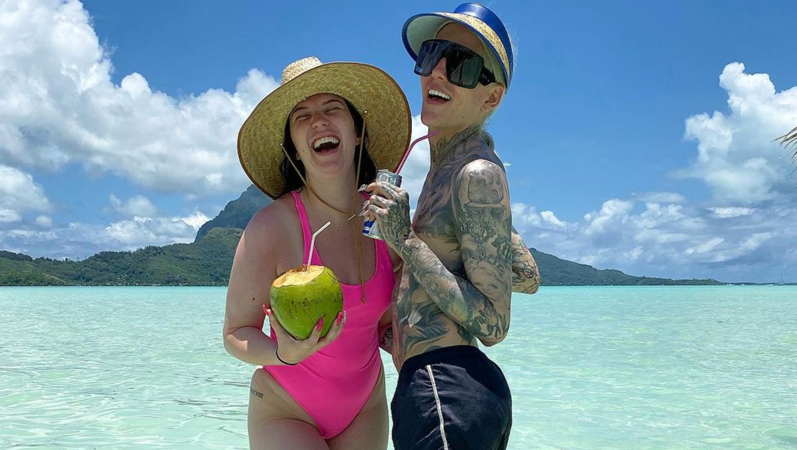 Maddie Taylor and Jeffree Star in Bora Borad