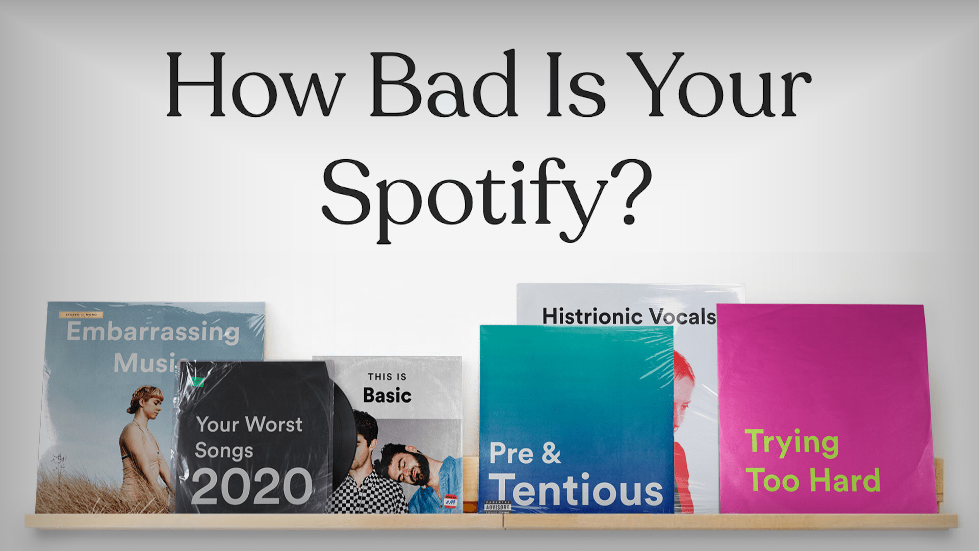 how bad is my spotify