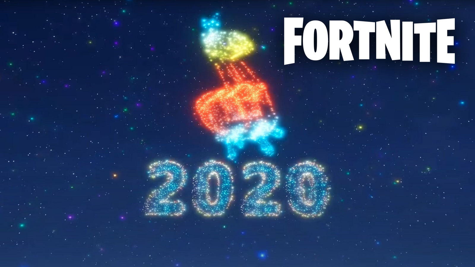 Fortnite 2020 New Years Event With Logo
