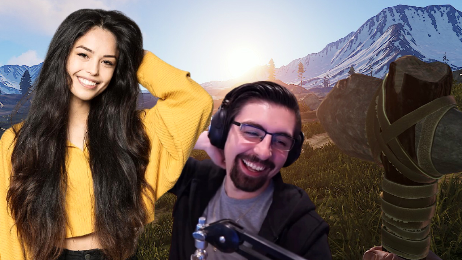 Streamers playing Rust