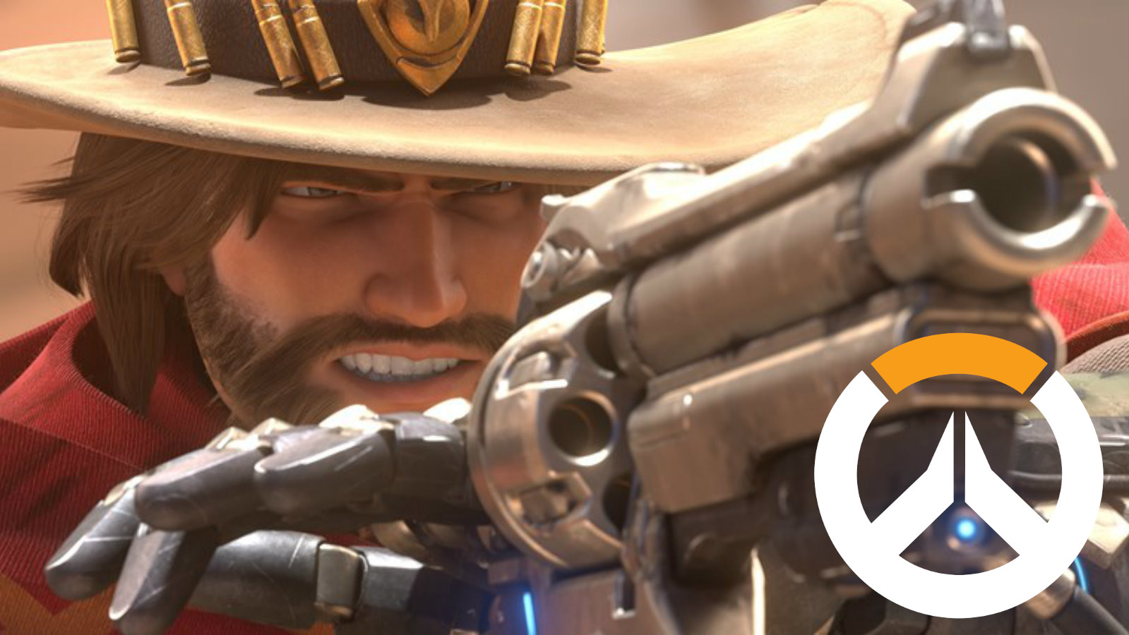 McCree fires his six-shooter