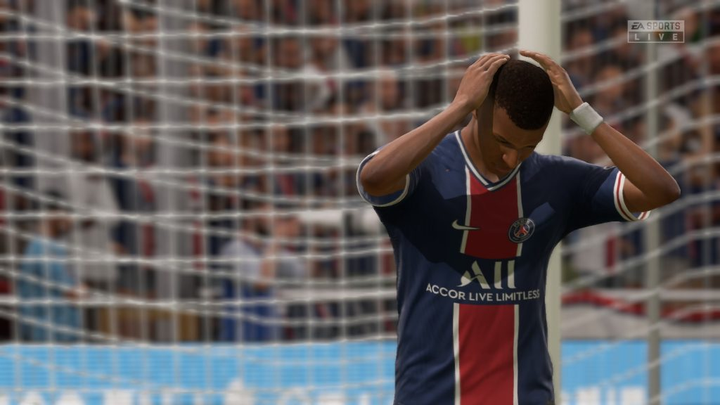 Mbappe is one player that may have dipped in FIFA 21 so far.