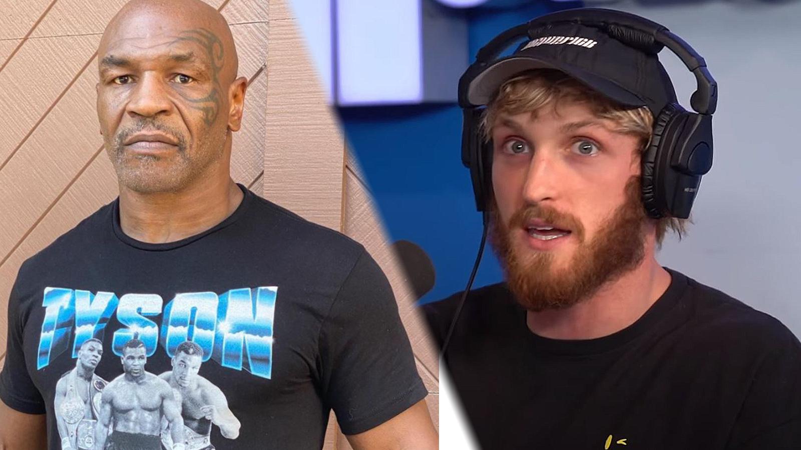 Mike Tyson predicts Logan Paul vs Floyd Mayweather