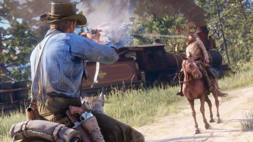 Headshot in Red Dead Redemption