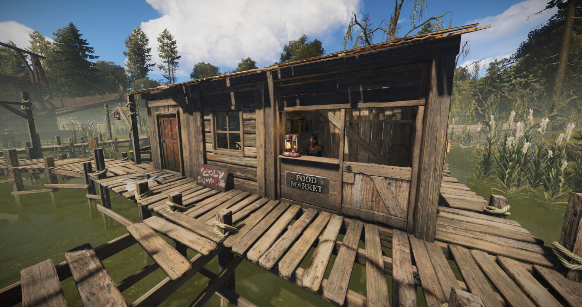 Bandit camp in rust