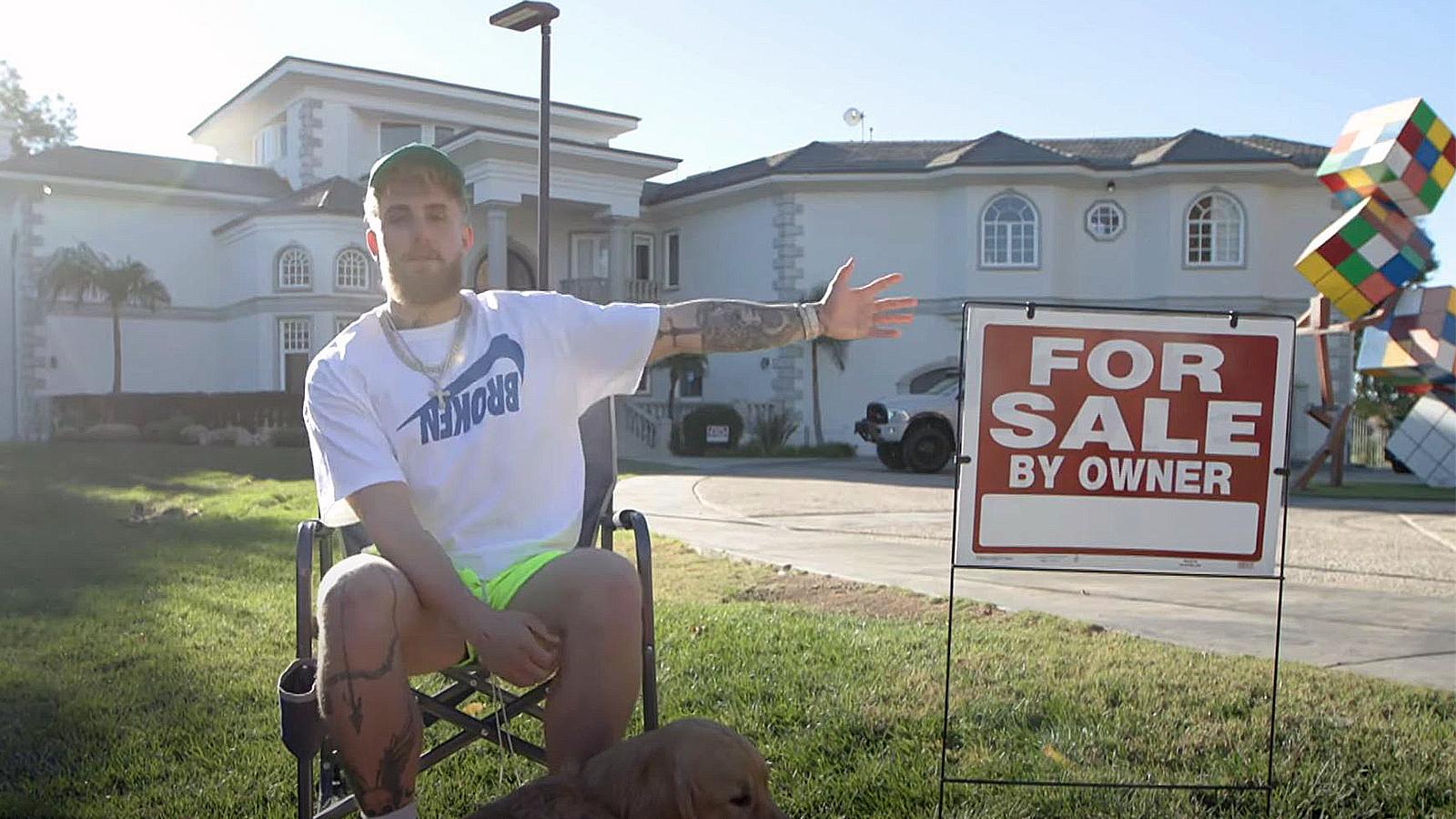 Jake Paul selling Team 10 mansion.