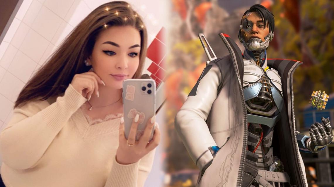 Apex Legends cosplayer