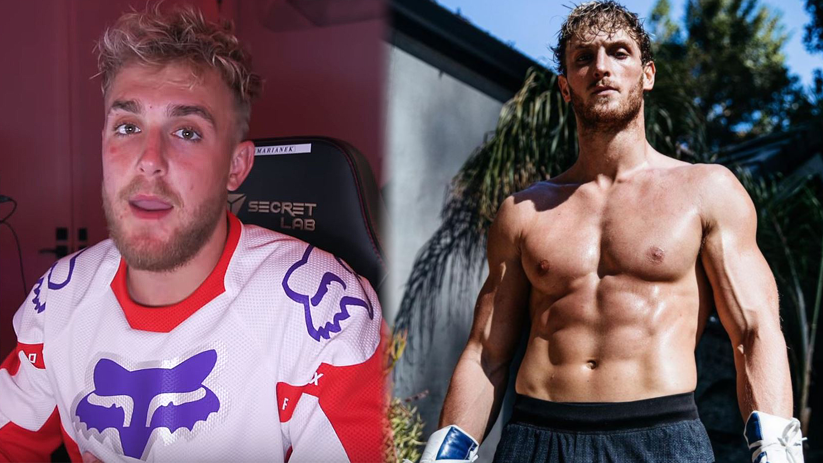 Jake Paul claims Logan Paul is a fake fighter