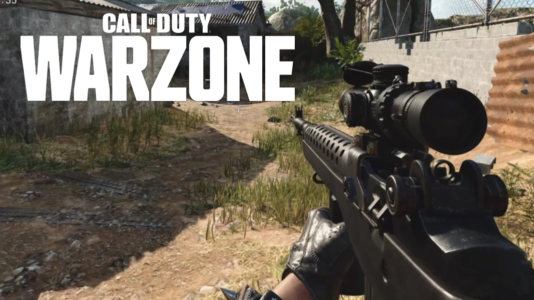 DMR 14 in BOCW with Warzone Logo