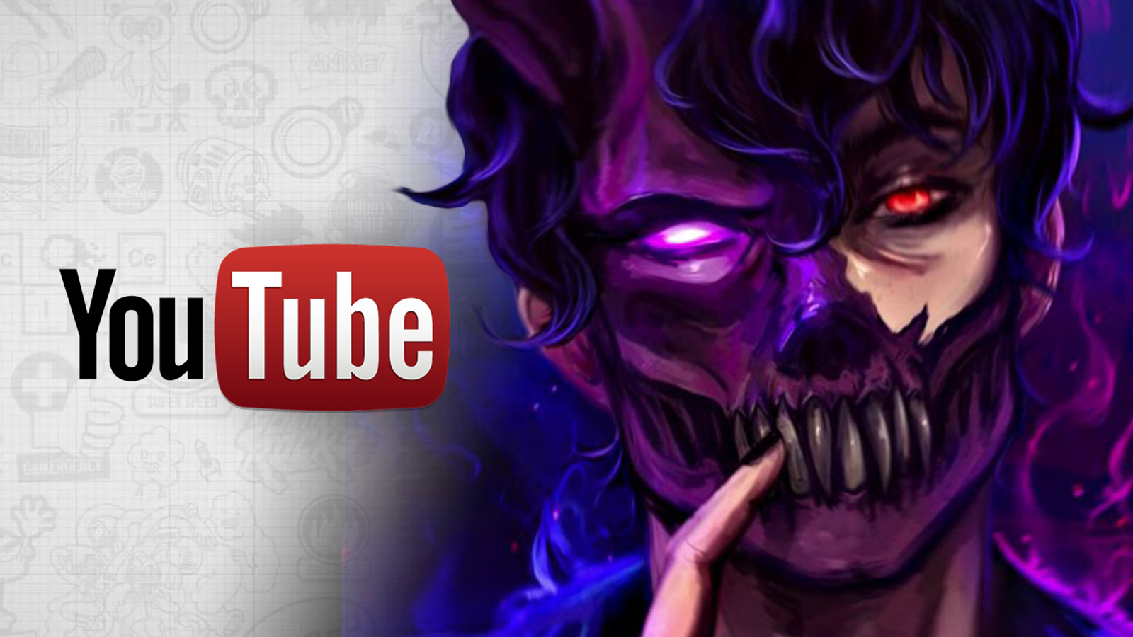 Corpse Husband avatar appears next to YouTube, which he's set to quit.