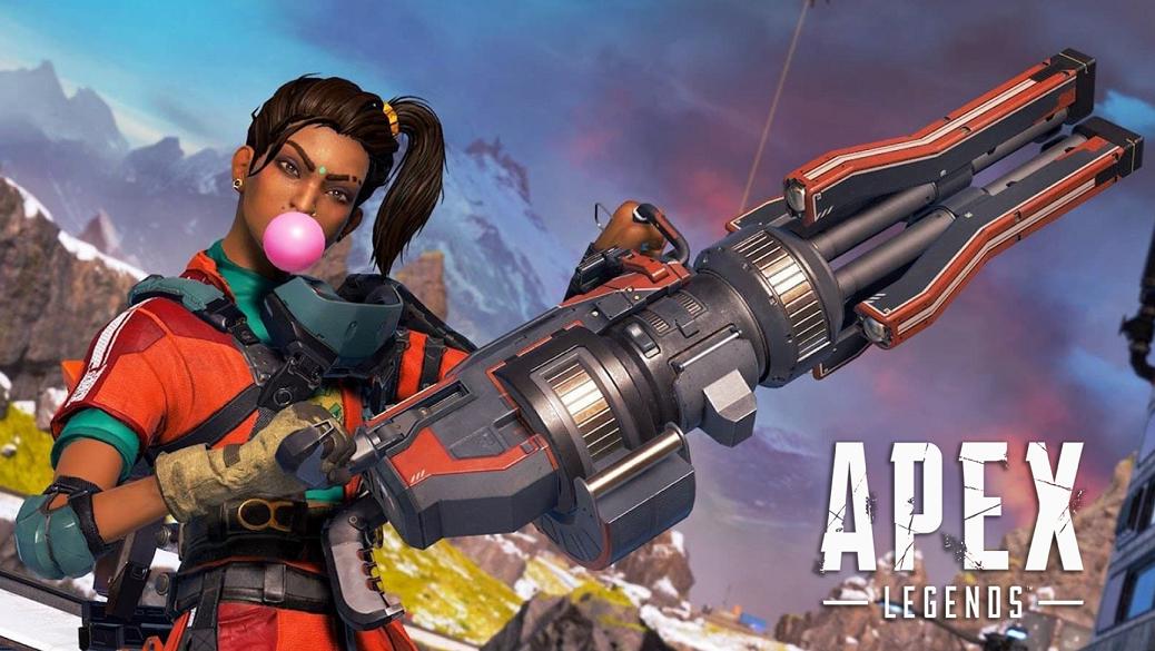Apex Legends Rampart gameplay