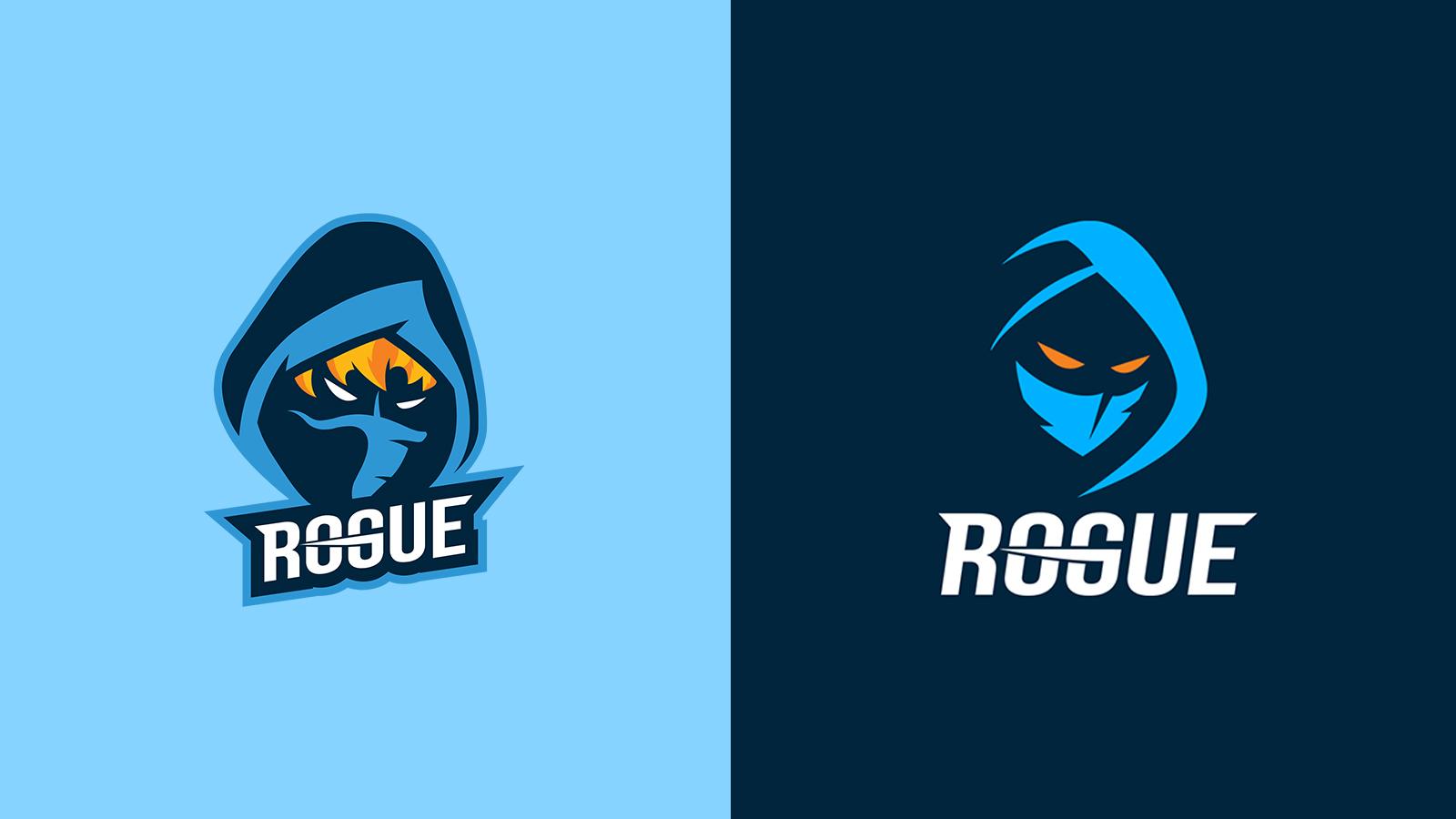 Rogue Old and New Logos