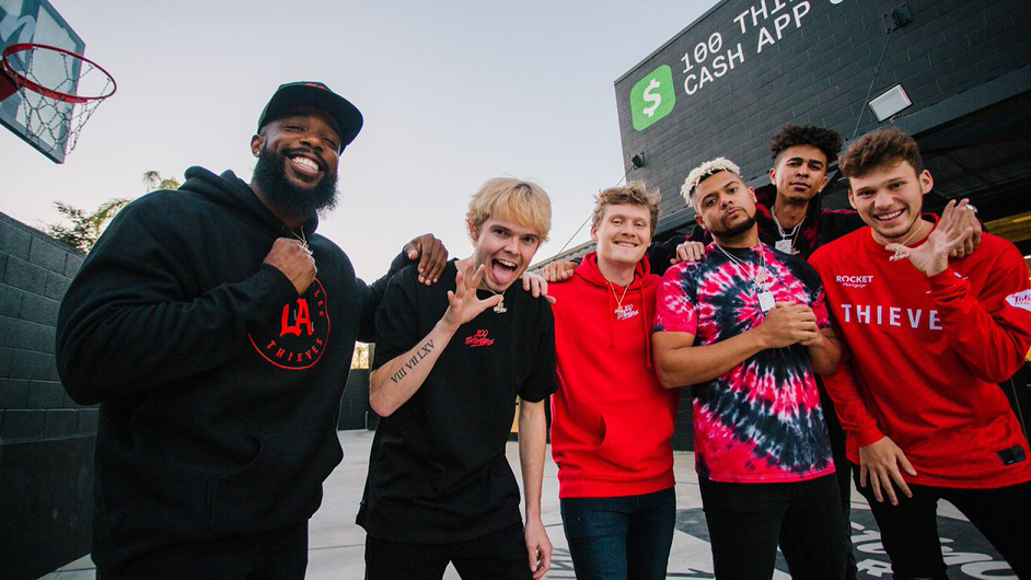 100 Thieves YouTube group 2HYPE