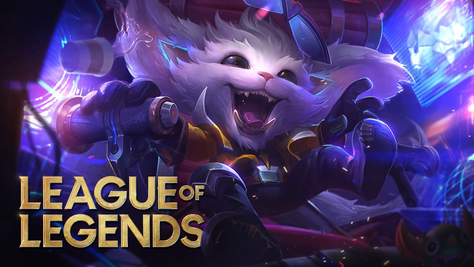 Super Galaxy Gnar yelling above League of Legends patch 11.1.