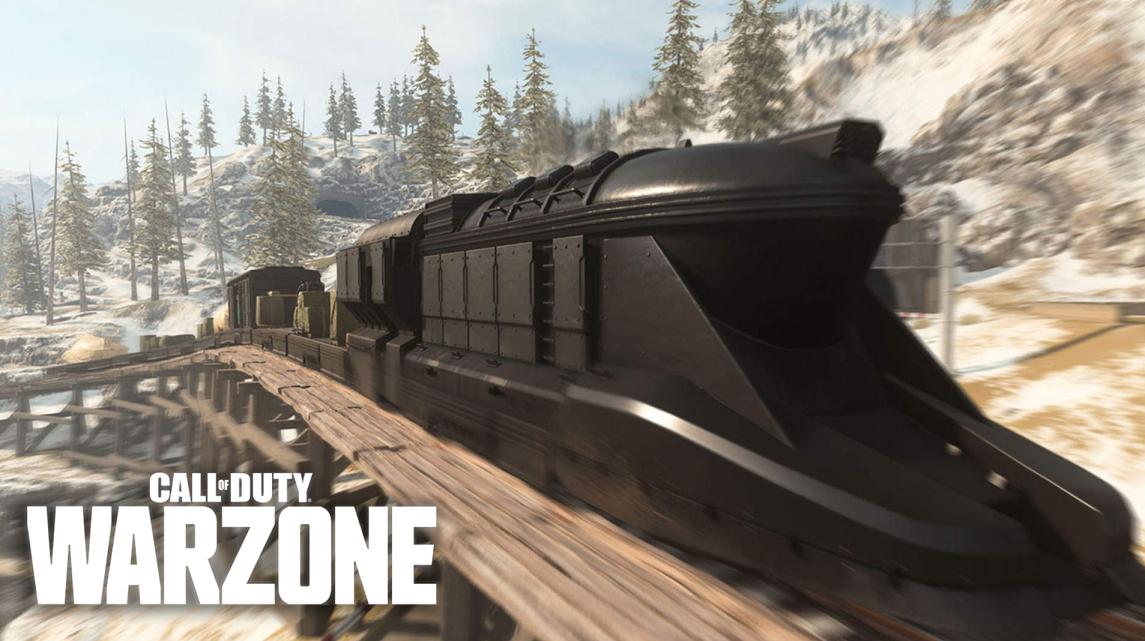 Warzone train gameplay