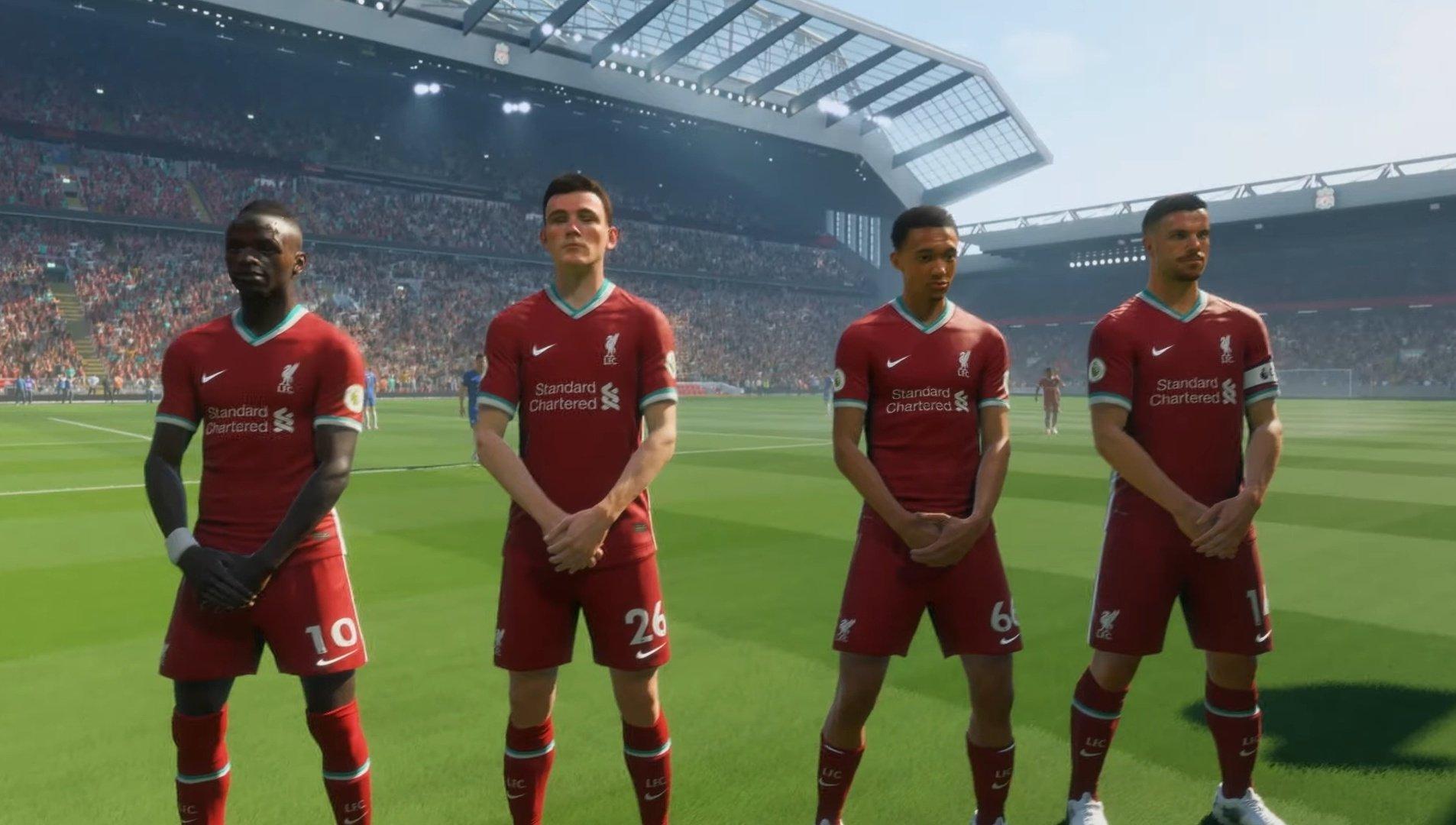 Liverpool players fifa 21 henderson mane trent robertson