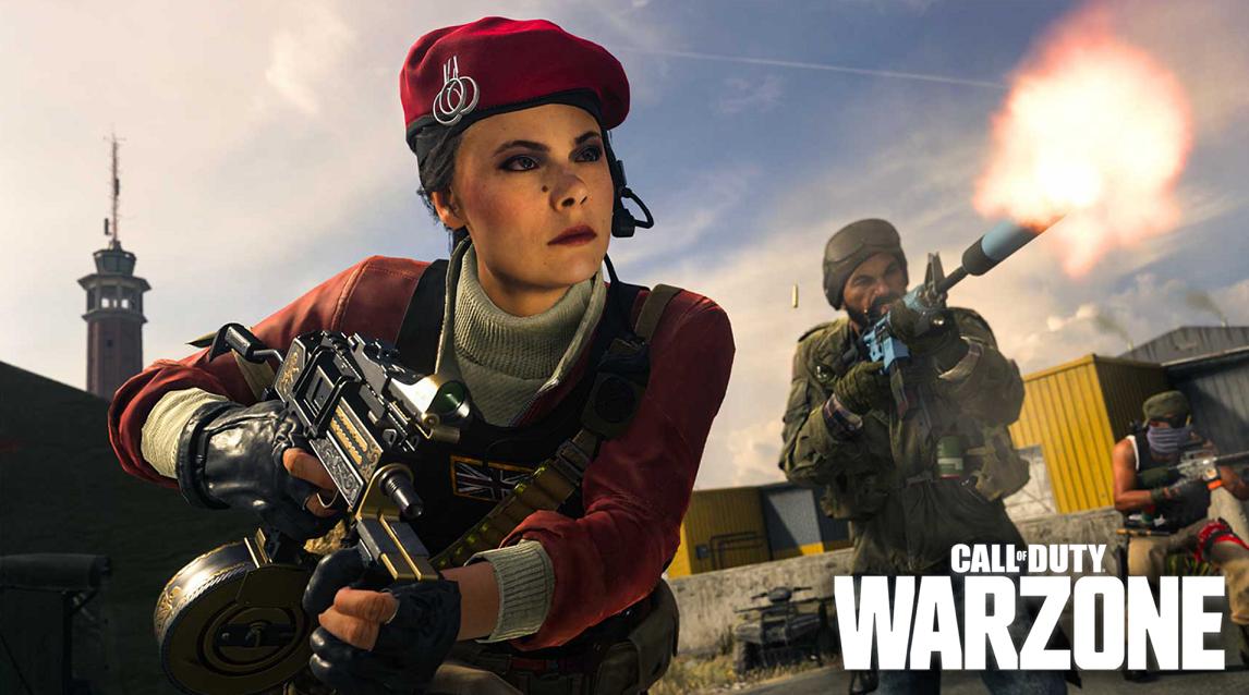 Warzone gameplay
