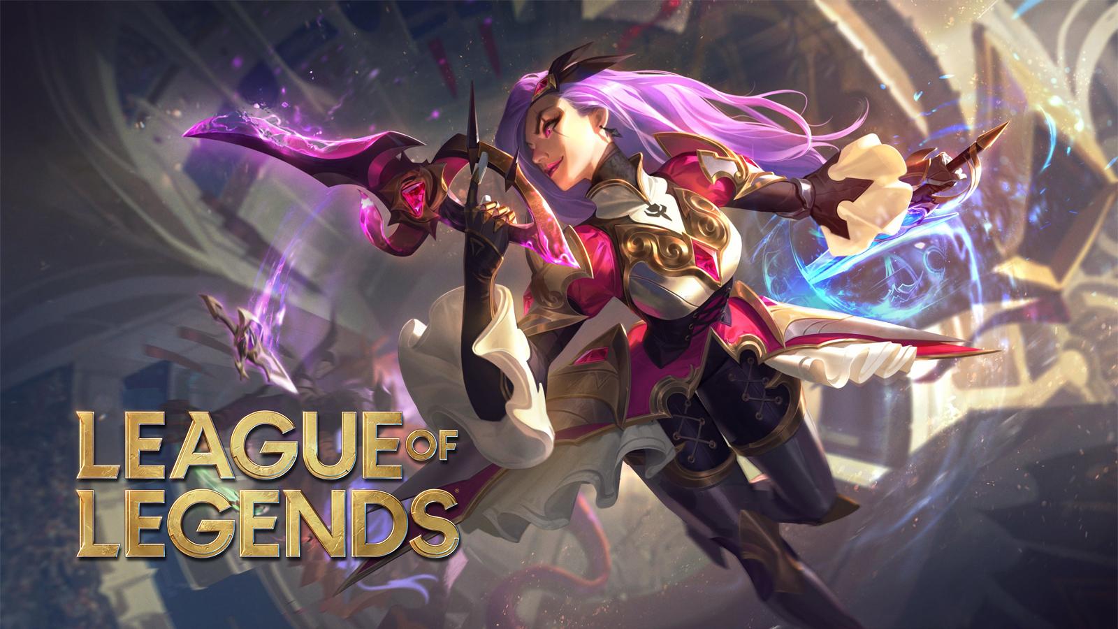Battle Queen Katarina in League of Legends