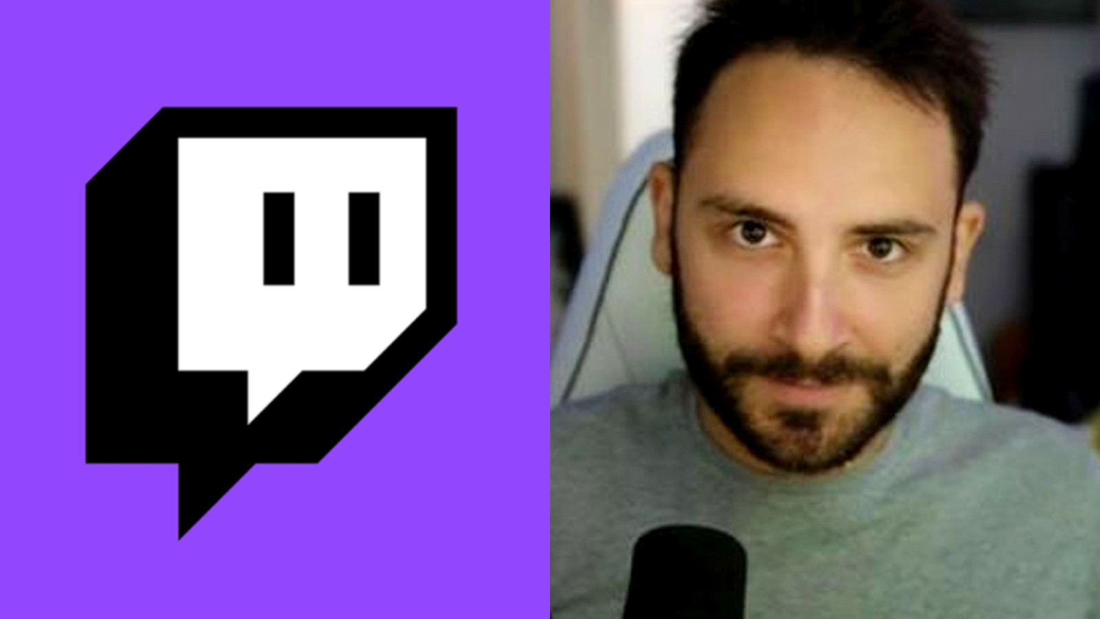 Image of the Twitch logo alongside Reckful