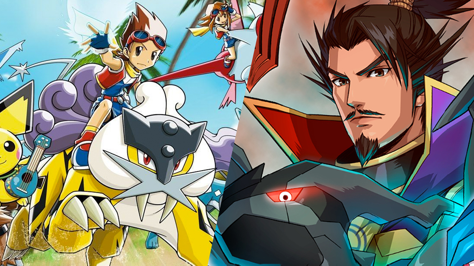 Pokemon Rangers & Conquest