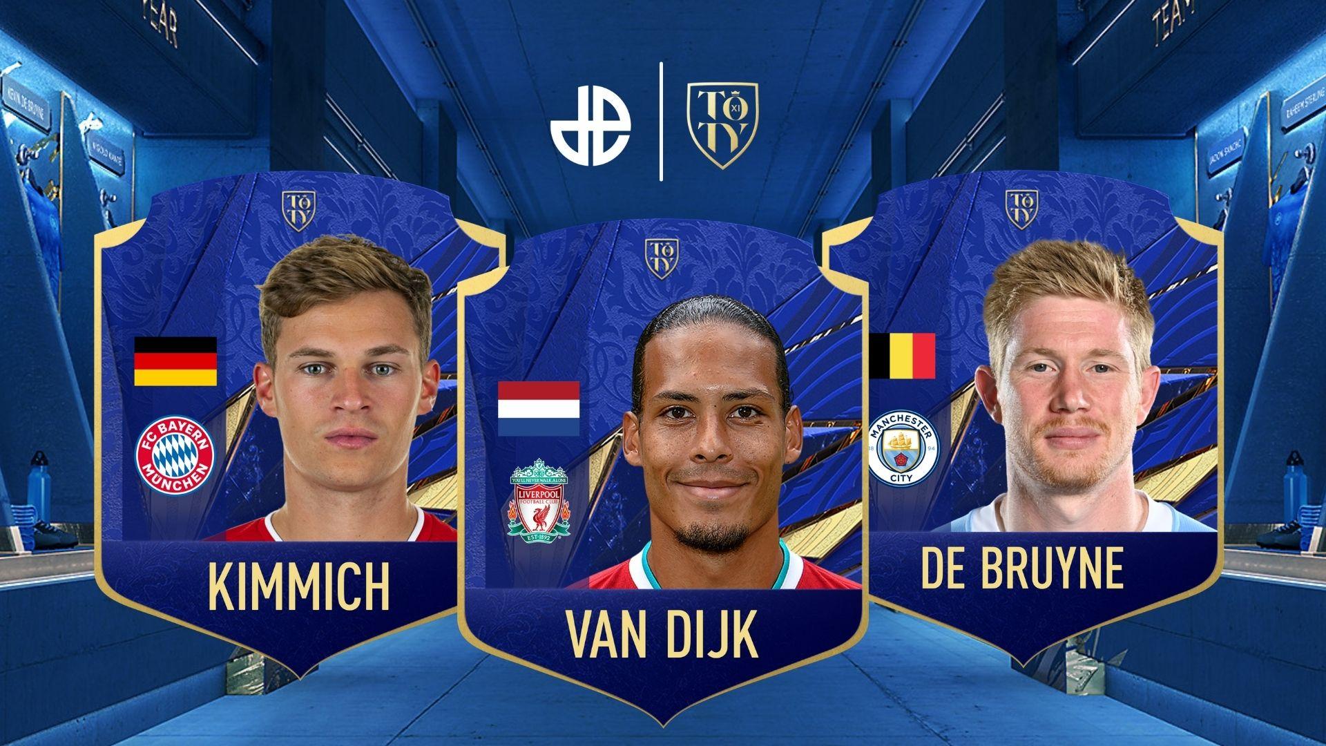 Dexerto FIFA 21 team of the year