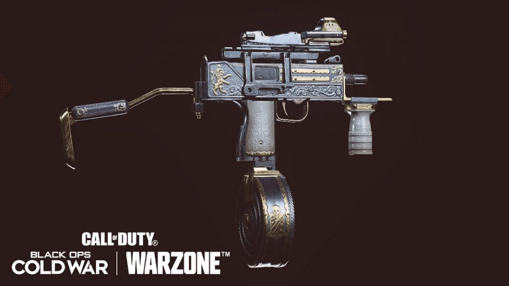 Gallantry blueprint in Warzone
