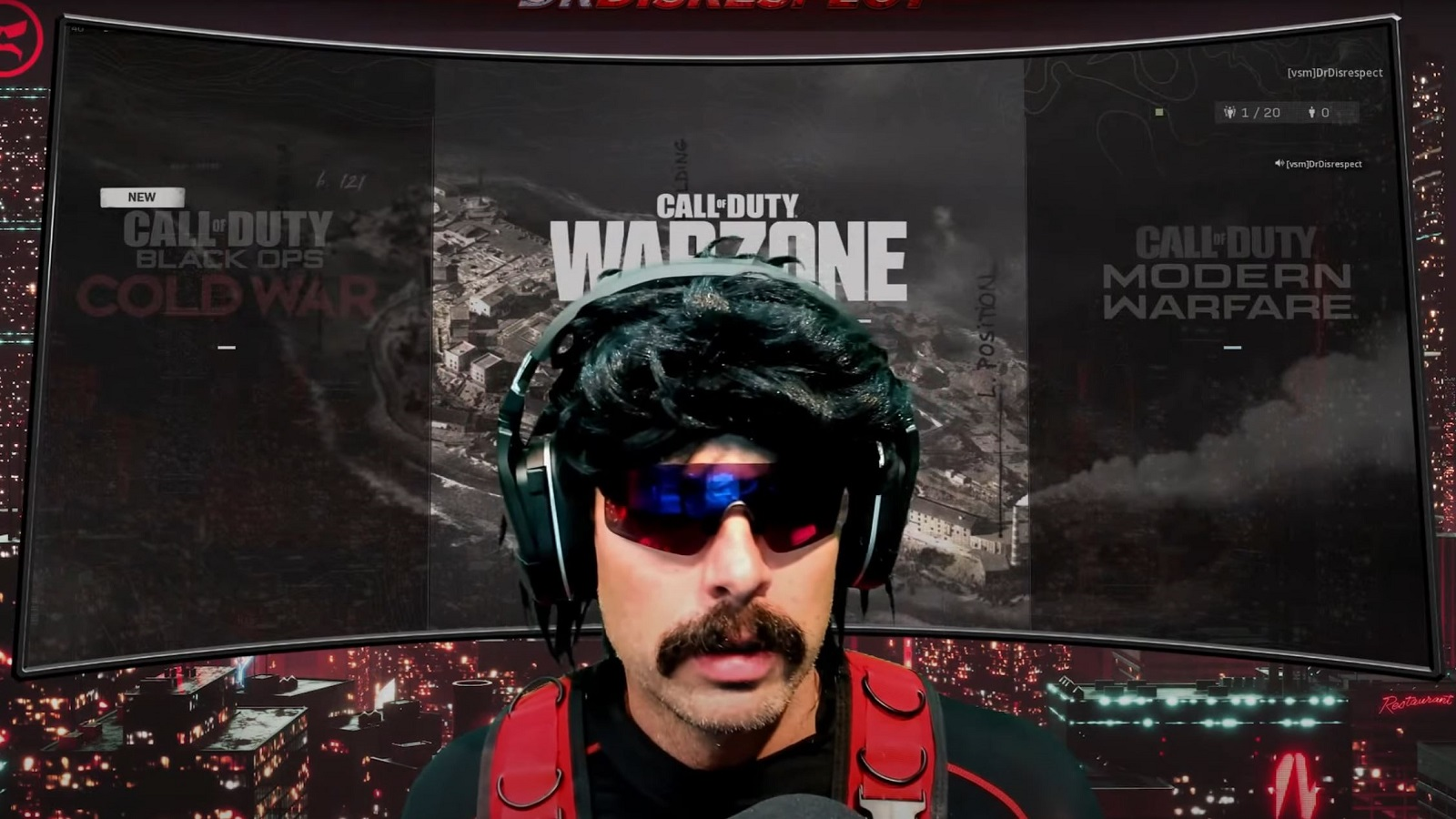 Dr Disrespect YouTube Call of Duty Warzone