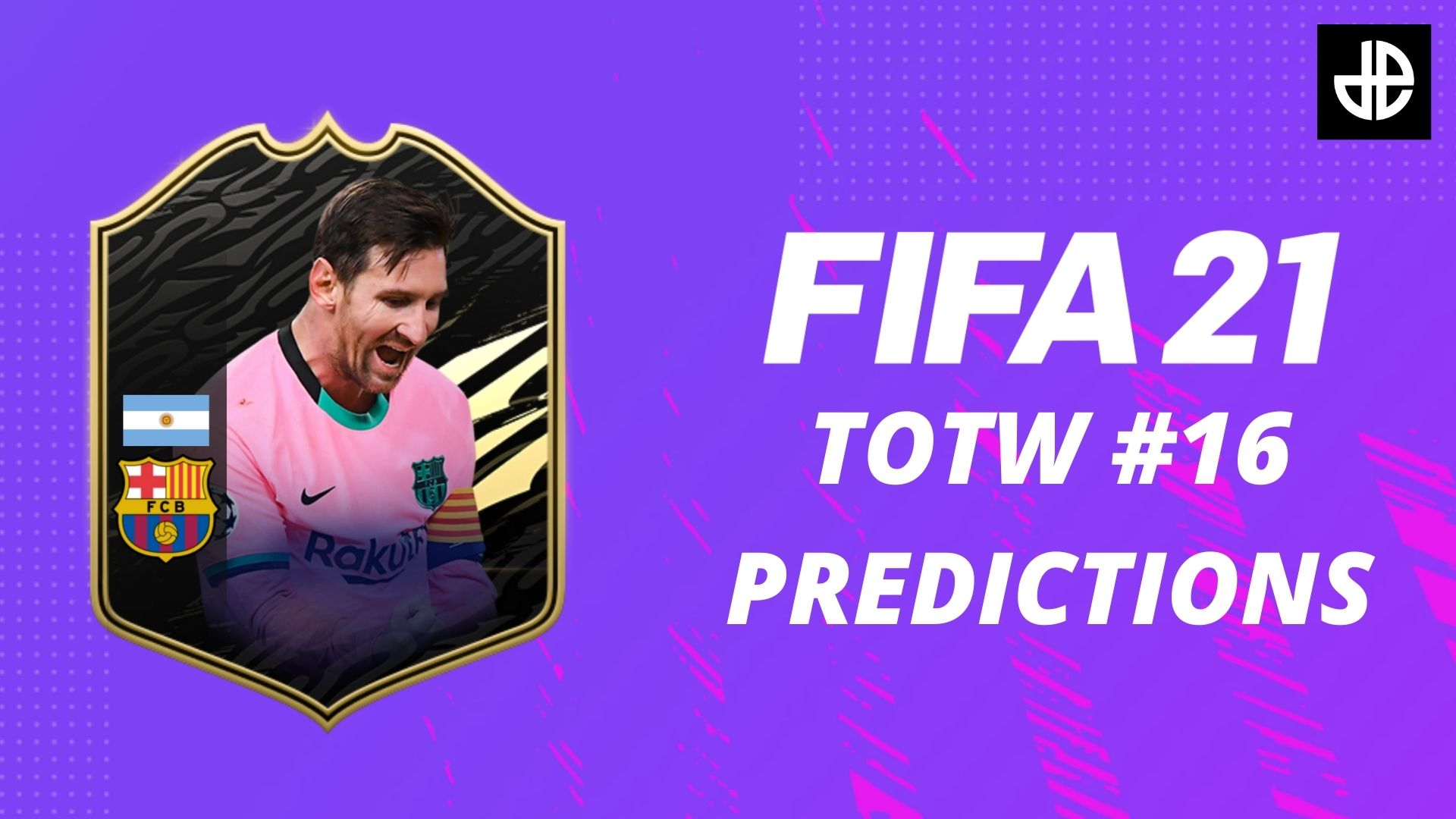 FIFA 21 TOTW 16 predictions with a Lionel Messi card