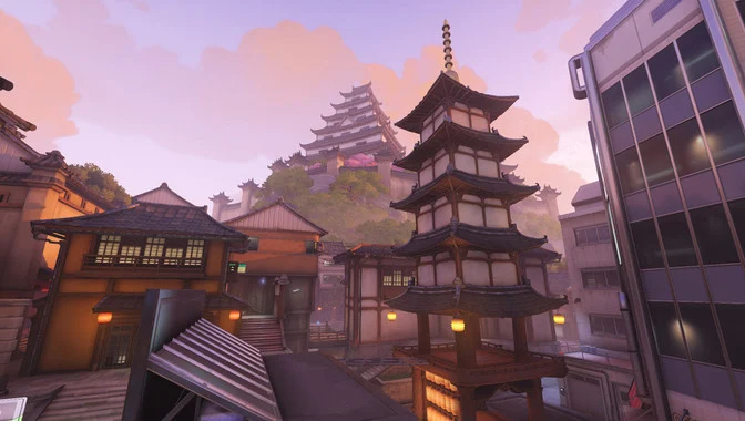 Overwatch Kanezaka map