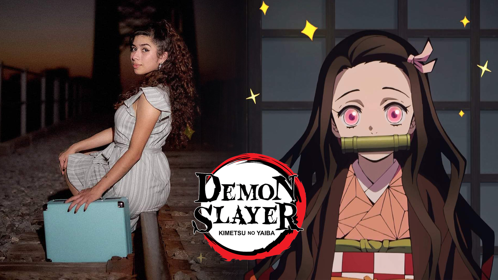 Demon Slayer Nezuko Kamado Cosplay
