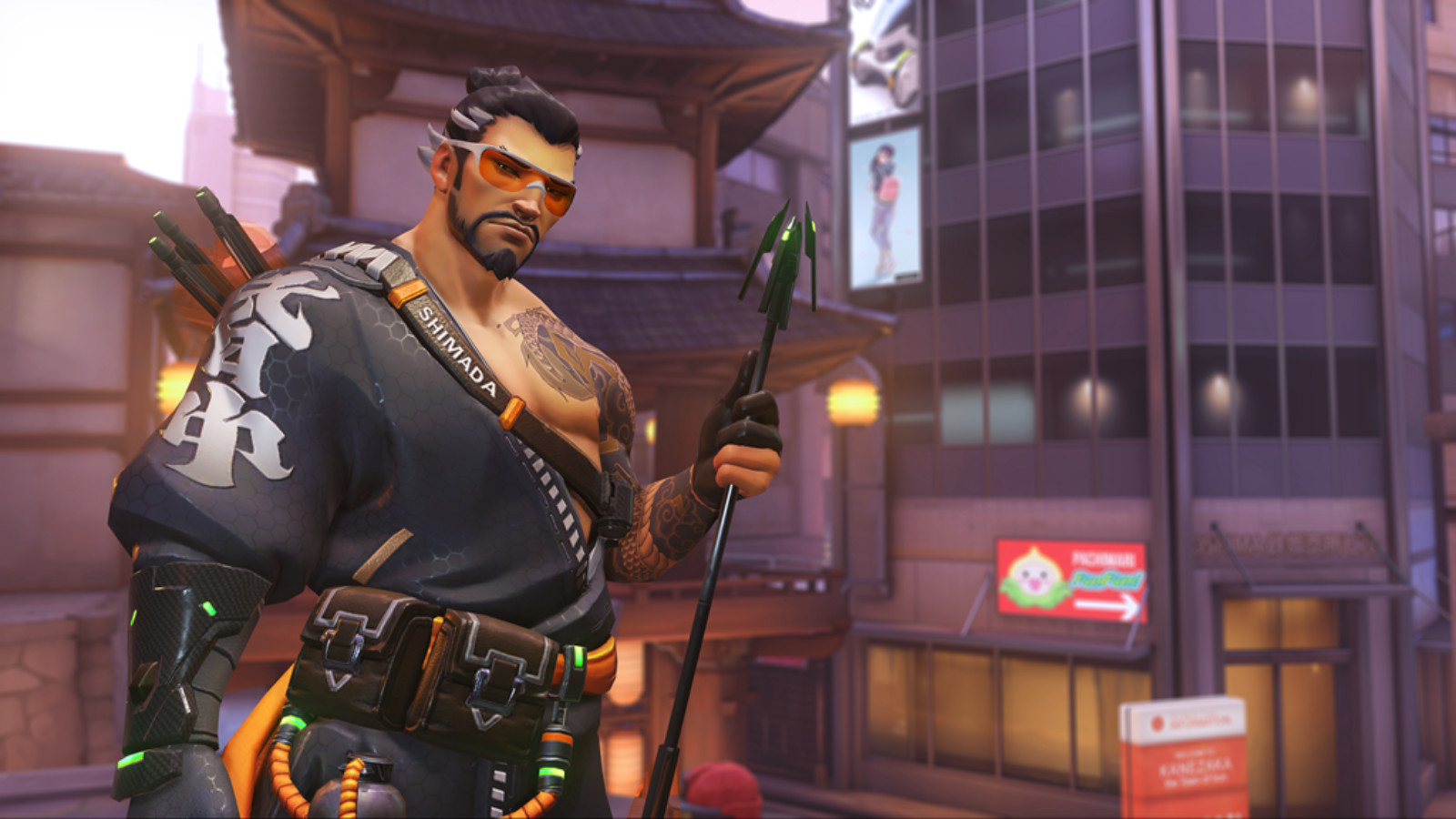 Hanzo on Overwatch death match event