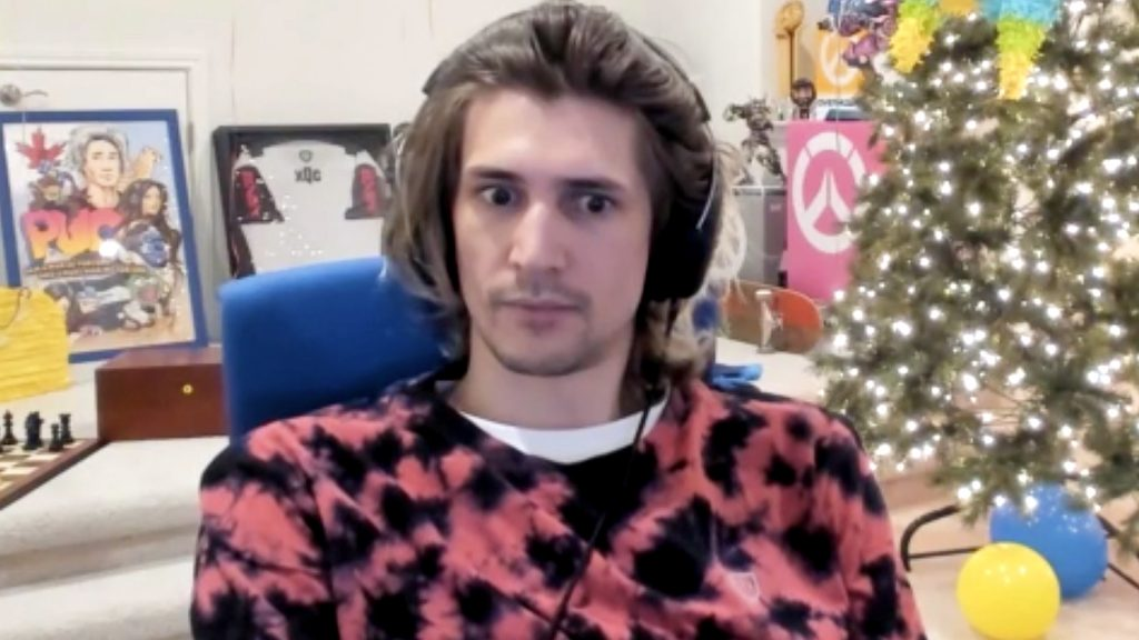 The Twitch star has slotted (deliberately or otherwise) into his 'bad guy' role perfectly.