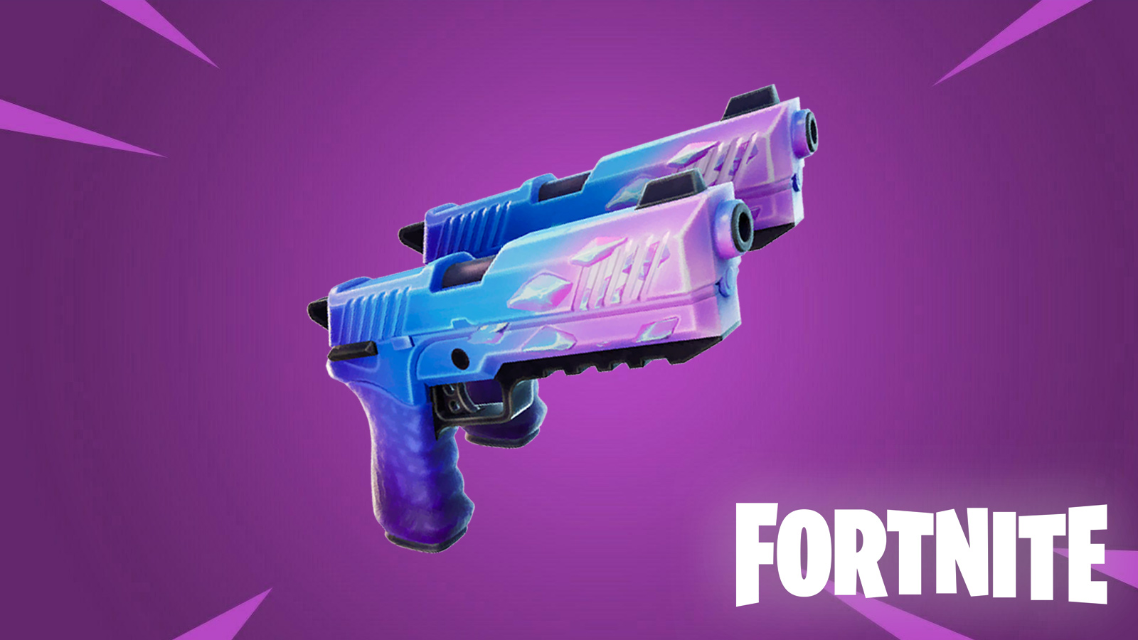 Fortnite Hop Rock Dualies exotic weapon
