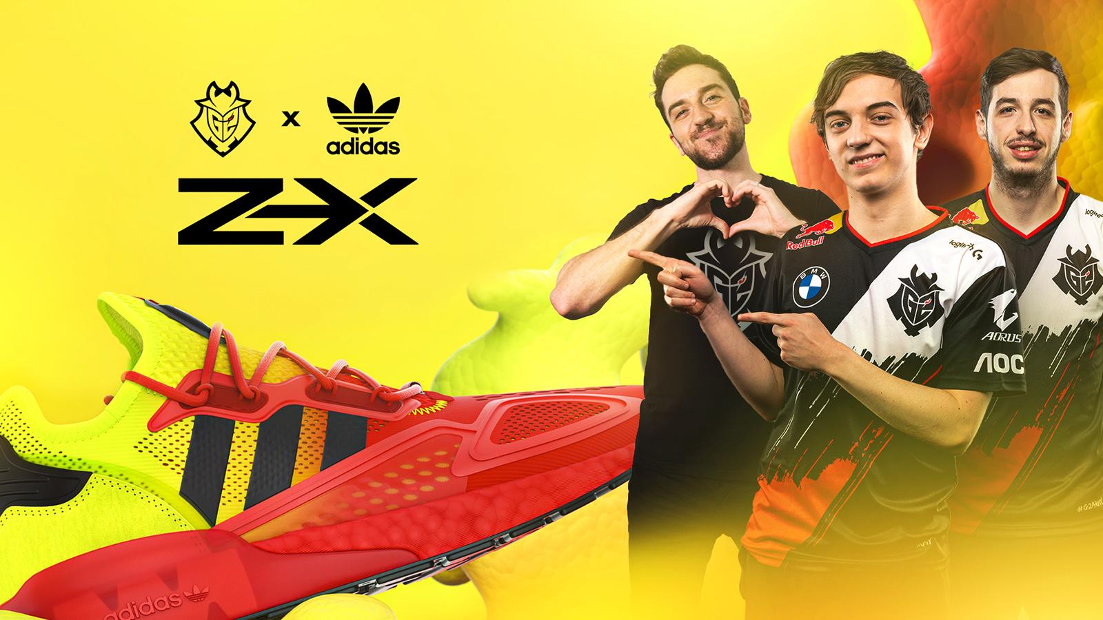 G2 Esports adidas Partnership