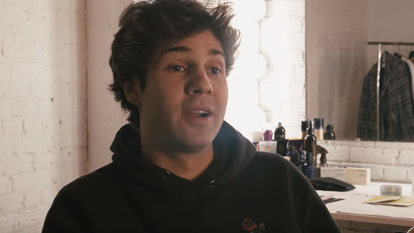 David Dobrik addresses rumors about his sexuality